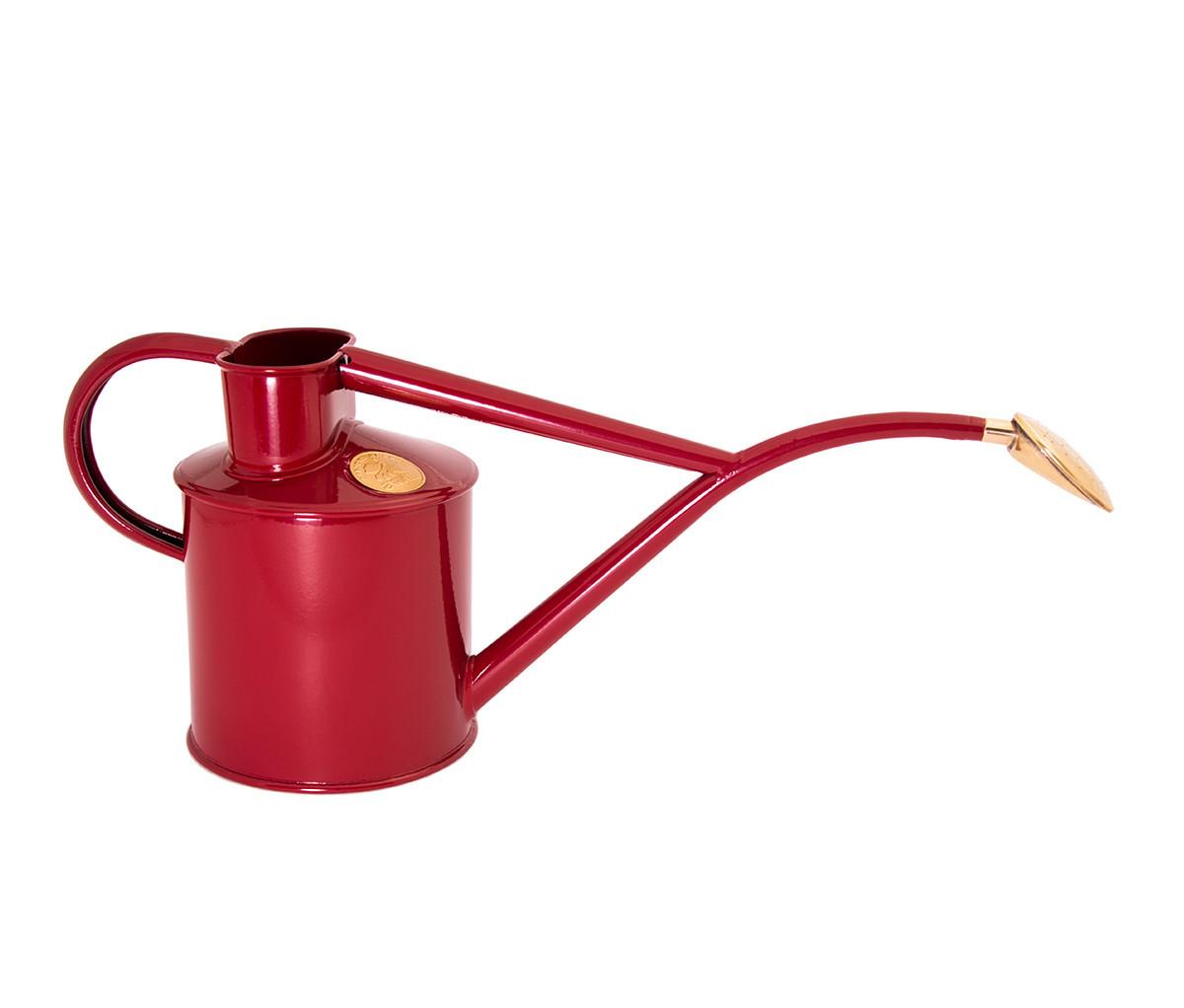 Gartengießkanne 5 Liter rot Gießkanne